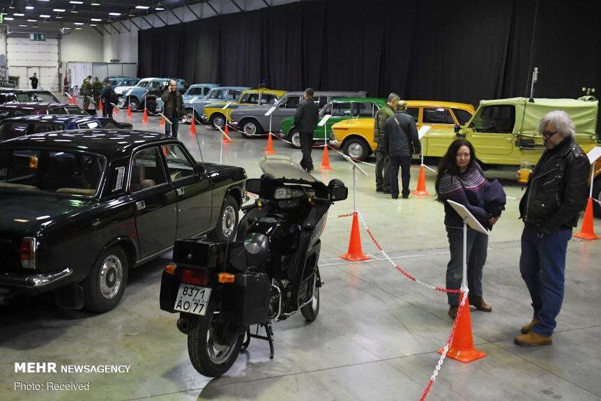 اخبار,تصاویروسایل نقلیه,نمایشگاه ماشین های کلاسیک در مسکو
