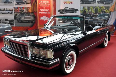 نمایشگاه ماشین های کلاسیک در مسکو