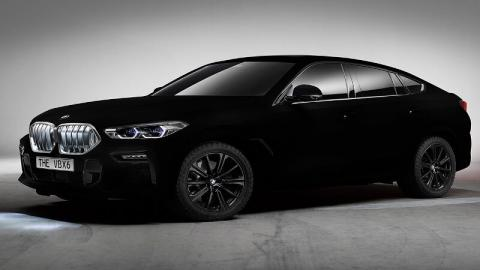 BMW سیاهترین خودروی جهان را ساخت