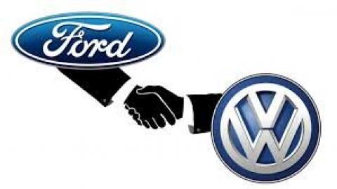 اتحاد فورد و فولکسواگن برای تولید خودروهای برقی
