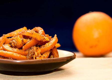 مواد لازم برای تهیه ترشی پوست پرتقال, روش های تهیه ی ترشی پوست پرتقال