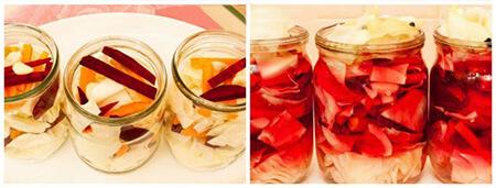 طرز تهیه ترشی کلم سفید و قرمز به روش های متفاوت طرز تهیهترشی کلم سفید و قرمز