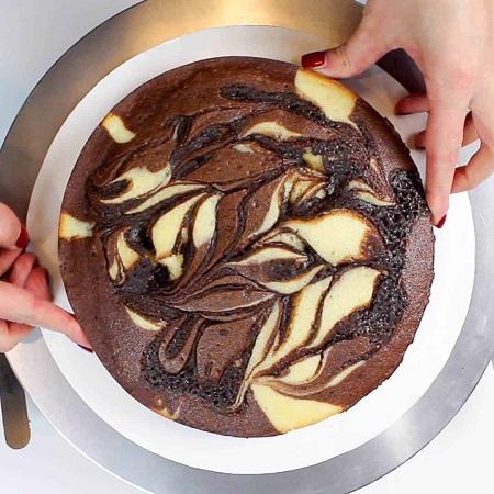 طرز تهیه کیک ماربل برانیز, طرز تهیه ماربل کیک, ماربل کیک