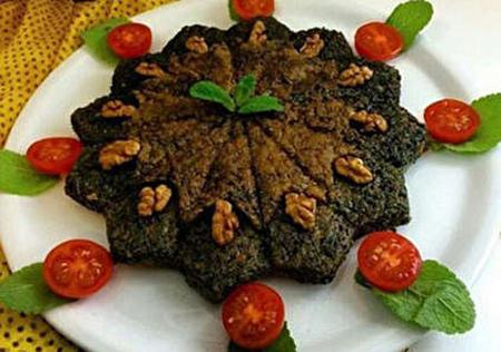 طرز تهیه کوکو سبزی,پخت کوکو سبزی