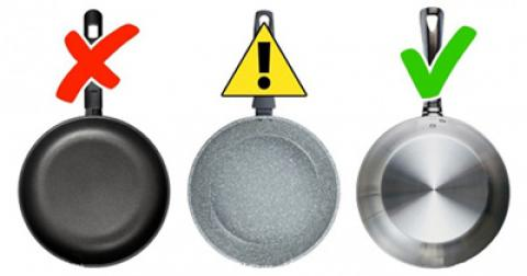 ظروف ممنوعه در آشپزخانه