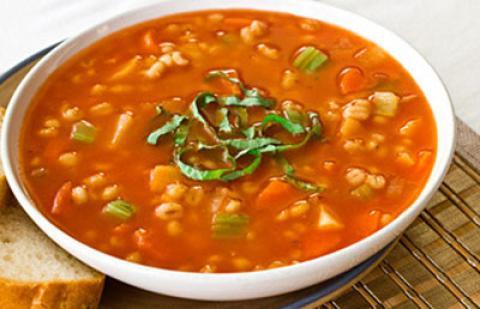 راز خوشمزه شدن سوپ جو