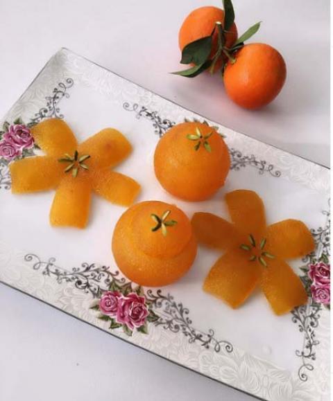 طرز تهیه انواع مربای نارنج  آموزش تهیه مربای نارنج درسته و خلالی
