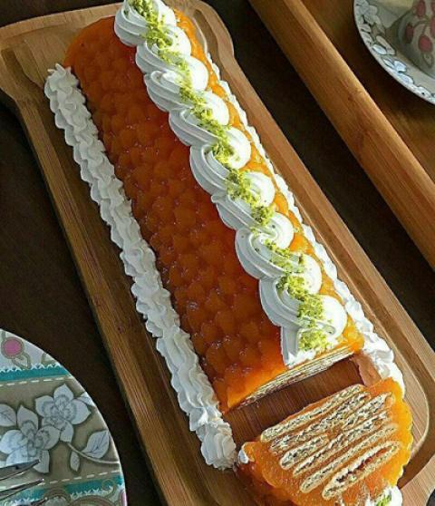 طرز تهیه کیک هویج یخچالی