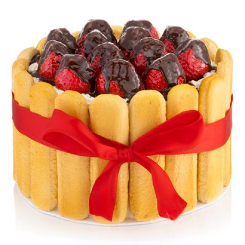 طرز تهیه چيز كيک با ليدی فينگر