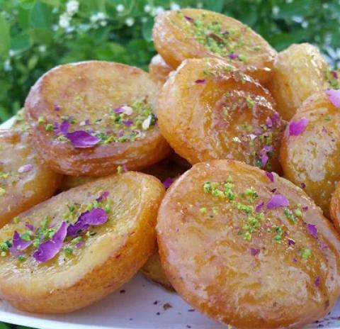 طرز تهیه شیرینی صب القفشه، شیرینی عربی