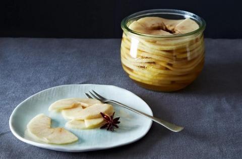 انواع روشهای تهیه ترشی سیب  طرز تهیه ترشی سیب درختی