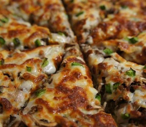 طرز تهیه پیتزا گوشت و قارچ طرز پخت پیتزا گوشت و قارچ