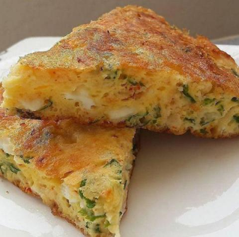 طرز تهیه املت پنیر