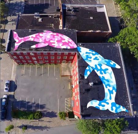 عکس نقاشی های سه بعدی خیابانی