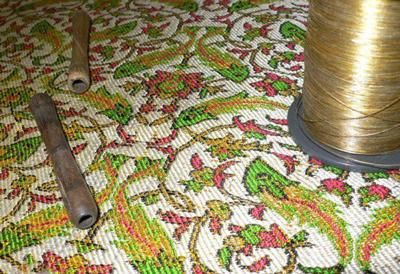 آشنایی فن زریبافی, هنرهای دستی و سنتی