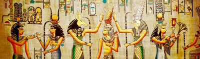 پوشش در مصر باستان
