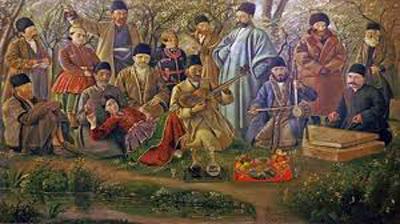اوج موسیقی ساسانیان, موسیقی  ساسانیان در ایران