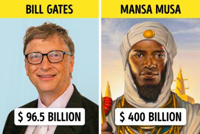 میلیاردرهای مدرن, فرعون های مصر