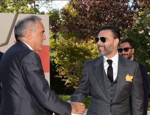 خداحافظی پیمان معادی با جشنواره فیلم ونیز