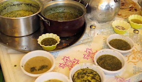 آشنایی با غذاهای سنتی کردستان