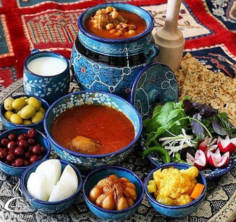 انواع غذاهای سنتی کرمان معرفیغذاهای سنتی کرمان