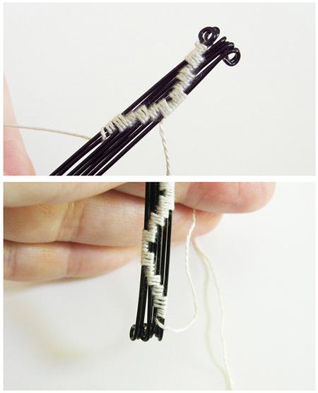 مراحل ساخت دستبند, درست کردن مرحله ای دستبند