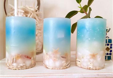 مدل های تزیین شمع