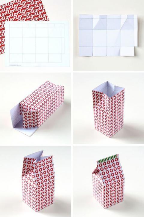 آموزش ساخت جعبه های هدیه