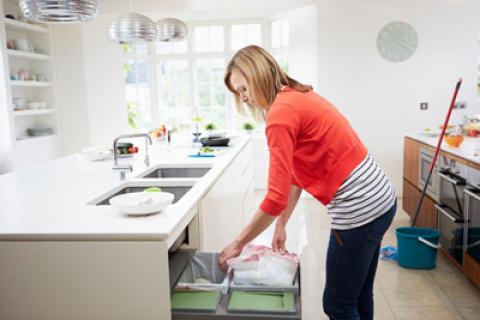 اصول خانه تکانی برای افراد شاغل