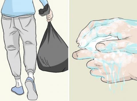 نحوه تمیز کردن و ضد عفونی کردن وسایل از کورونا ویروس