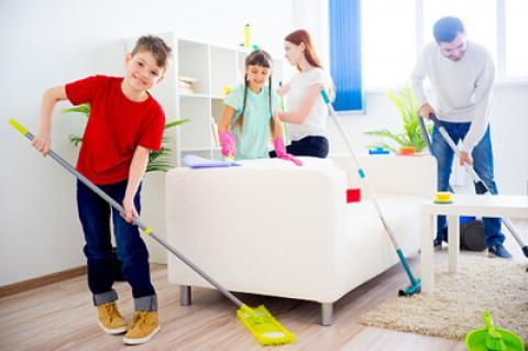 توصیه هایی برای خانه تکانی