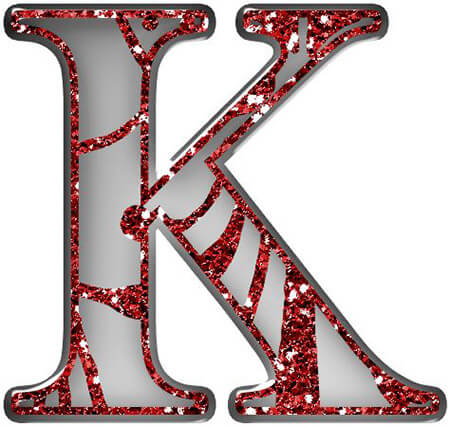 حرف k, تصاویر حرف k