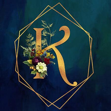 کارت پستال حرف k,تصاویر حرف k