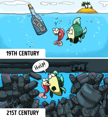 کاریکاتور مفهومی, کاریکاتور جالب