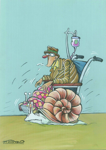 کاریکاتور روز جهانی سالمندان, کاریکاتور سالمندان