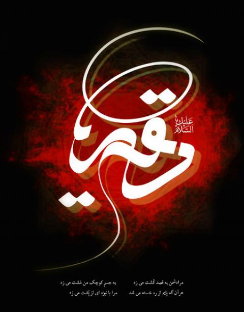 عکس های شهادت حضرت رقیه (س)