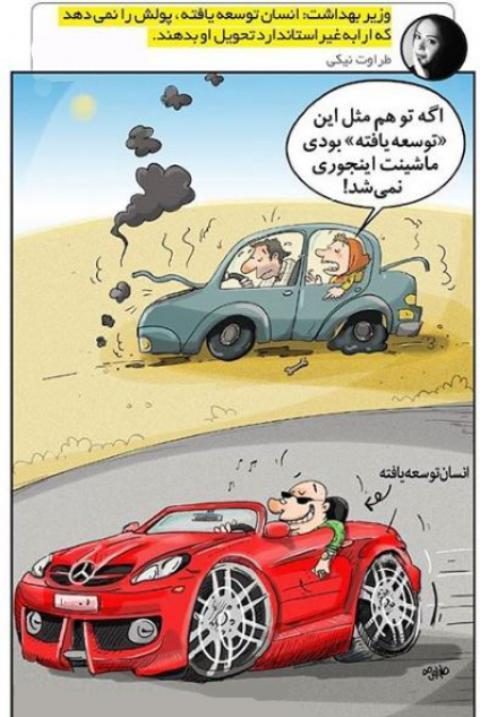 کاریکاتور سریعترین شیوه سفارش پیتزا در تهران را ببینید!