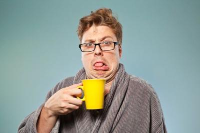 دلیل تلخ شدن دهان, تلخ شدن دهان در صبح