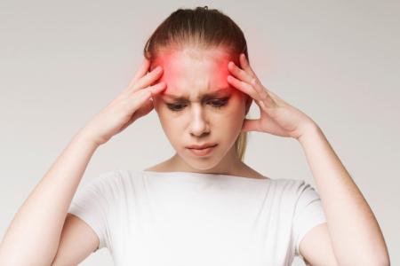 میگرن عصبی چه علائمی دارد, میگرن چشمی