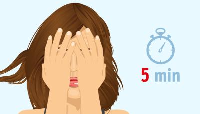 8 درمان خانگی برای رفع خستگی چشم, چند ورزش ساده برای رفع خستگی چشم