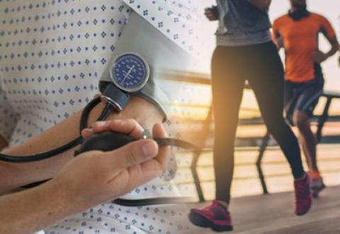 پیشگیری و کاهش فشار خون با ورزش