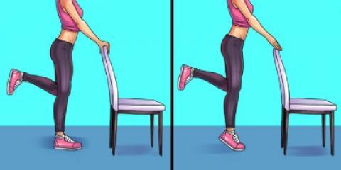 6 تمرین برای از بین بردن درد پا ، زانو و لگن