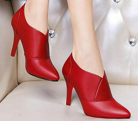 مدل های کفش قرمز