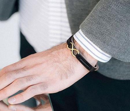 دستبند چرمی, دستبند پسرانه چرمی
