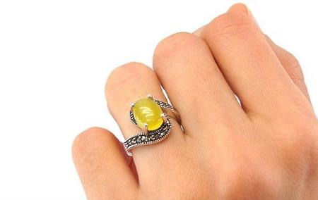 جدیدترین مدل انگشتر شرف الشمس زنانه