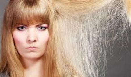 درمان وزی مو,تقویت مویی که دکلره شده ,درمان خشکی موهای رنگ شده