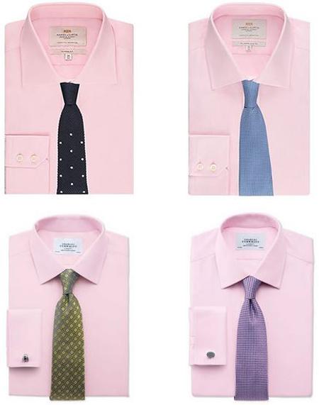 ست پیراهن و کروات,اصولی برای ست کردن کروات و پیراهن