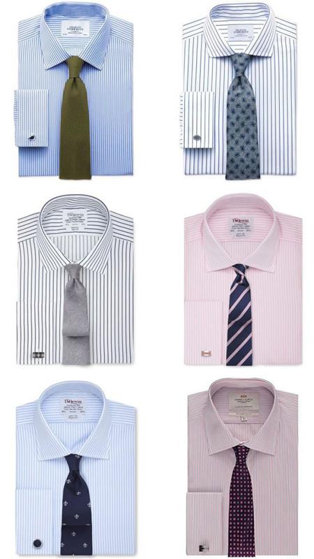 اصولی برای ست کردن کروات و پیراهن, راهنمای ست کردن کروات و پیراهن