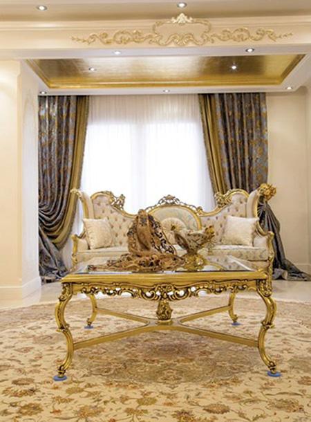 دکوراسیون و چیدمان طلایی, نکاتی برای استفاده از رنگ طلایی در خانه