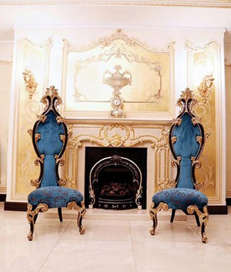ترکیب رنگ طلایی در چیدمان خانه,شیک ترین ترکیب رنگ در خانه